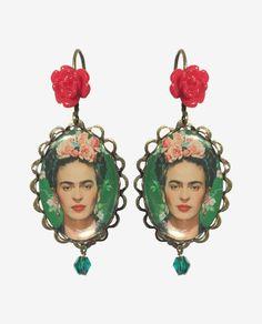 Boucles d'oreilles Frida Kahlo