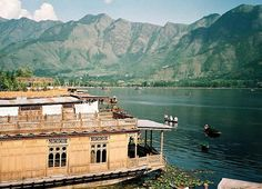 Houseboat in Srinegar, Kashmir, India. One of the nicest places to stay in the world.