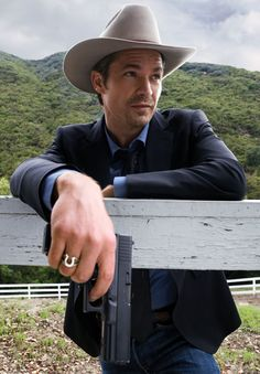 theres something about this? ...maybe its his name? Justified....Love me some Raylan Givens!