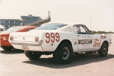 Clester Andrews was driver for the Wickersham Ford Mustang