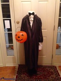 ... daughter Madison has always loved Halloween and the spooky side of the holiday. Ever since 1st grade she has always chosen a scary costume. This year. & Headless Horseman Costumes For Adults And Kids | Seasonal Holiday ...