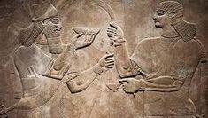Ancient Babylonia and Assyria sculpture painting from Mesopotamia ~ Hi Res Ancient Aliens, Ancient History, Art History, Sculpture Painting, Lion Sculpture, Ufo, Thomas Alva Edison, Peabody Museum, Historia Universal