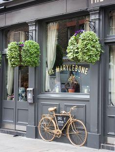 Marylebone area in london our shop в 2019 г. Bakery Design, Cafe Design, Store Design, London Cafe, Paris Cafe, London Pubs, Cafe Restaurant, Restaurant Design, Decoration Restaurant