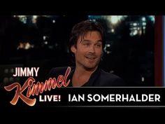 Ian Somerhalder on Vampire Diaries & Lost - YouTube