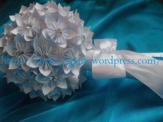 origami wedding boquet Origami Wedding, Boquet, Wedding Designs