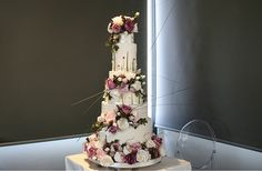 """The """"Rosie"""" cake Wedding Cakes With Cupcakes, Cupcake Cakes, Cake Face, Take The Cake, Fancy Cakes, Amazing Cakes, Wedding Planner, Cake Decorating, Table Decorations"""
