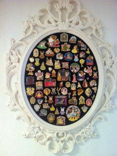Northern Yank becomes Southern Belle...: Displaying Disney pins
