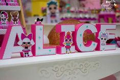 Dalcilene C's Birthday / LOL Surprise - Photo Gallery at Catch My Party 7th Birthday Party Ideas, Surprise Birthday, 5th Birthday, Birthday Parties, 3d Letters, Doll Party, Shark Party, Ideas Para Fiestas, Lol Dolls