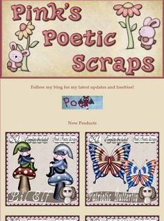 Ad:3 New Scripts & 3 New BT Freebies by Pink's Poetic Scraps! http://mad.ly/4c9473