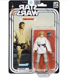 """ssically-detailed 40th Anniversary 6"""" replica of Luke Skywalker from StarC Wars: A New Hope Includes lightsaber and other character-inspired accessories Collect other Black Series figures to expand Star Wars collection (Each sold separately) Includes figure and 2 accessories Warning: choking hazard — small parts; not for children under 3 years Ages 4 and up"""