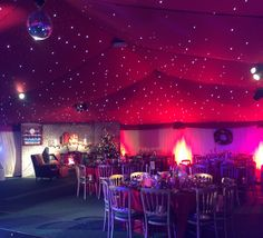 Christmas Party Marquee   #christmas #party http://www.richardsonmarquees.co.uk/
