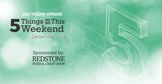 Here is Our Valley Events list of 5 things to do this weekend in Huntsville - December 4 - 6, 2015.
