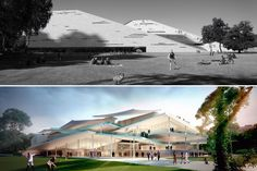 SANAA and Snøhetta Tie for Budapest's New National Gallery and Ludwig Museum
