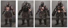 ArtStation - Wastelands Fighters, LEWIS FISCHER