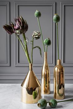 #Gold #Accessories #Vases