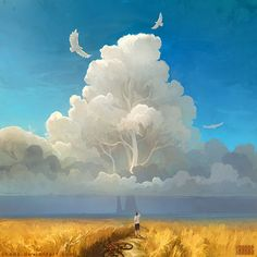 Nature Salvation, Artem Cheboha on ArtStation at https://www.artstation.com/artwork/nature-salvation