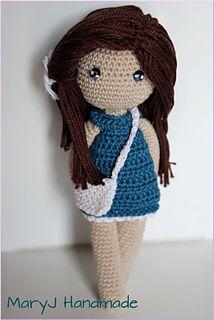 Daphne: Amigurumi doll pattern by MaryJ Handmade