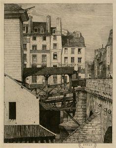 Pont Notre-Dame | La Pompe, 1853