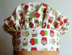 Touca / Bandana Gourmet Cafe Uniform, Head Wraps, Floral Tops, Patches, African, Sewing, Mens Tops, Women, Chef Hats