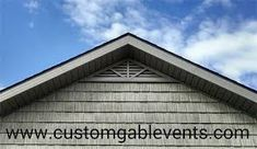 Shop Our Large Selection Of Gable Vents and Louvers. See Our Hinged Gable Vent For Easy Attic Access. Attic Vents, Gable Brackets, Gable Vents, Beach House Plans, Cedar Shingles, The Gables, New Home Designs, Home Projects, New Homes