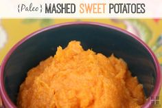 This paleo sweet potato mash is a super easy, hearty fall side dish that goes well with any type of meat.  It's simple enough for a weeknight (especially if you like to roast a tray of sweet potatoes ahead of time on the weekend like I do) and ric