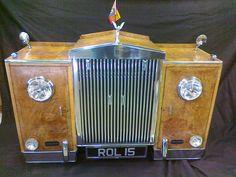 ROLLS ROYCE SIDEBOARD ? Car Furniture, Rolls Royce, Sideboard, Sculpture, Wood, Silver, Woodwind Instrument, Timber Wood, Sculptures