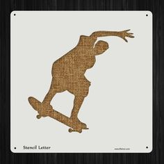 Skateboard Style 2336 , DIY Plastic Stencil Acrylic Mylar Reusable -- Check out the image by visiting the link.