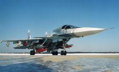 Su-34 Fullback Prototype T-10V-2