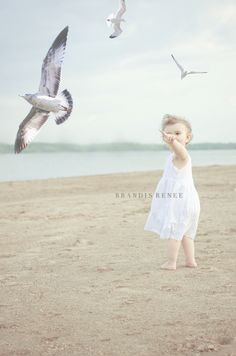 """my baby girl. """"beach shoot"""" when we lived in ohio. ;)"""