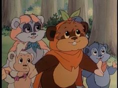 Ewoks Animated Series.... one of my favourite tv shows as a kid! Must find!!
