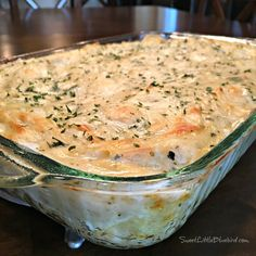 White Cheese Chicken Lasagna by Sweet Little Bluebird.sharing a little happiness with great recipes and more! Pasta Dishes, Food Dishes, Main Dishes, White Chicken Lasagna, Chicken Alfredo Lasagna, Lasagna Noodles, Chicken Lasagne, Cheese Lasagna, Think Food