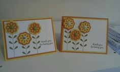 Bold blossom stampin up