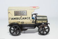TINPLATE BLECH WELLS TOY BRITISH OLDTIMER AMBULANCE EXCELLENT CONDITION RARE  in Modellbau, Auto- & Verkehrsmodelle, Sonstige Verkehrsmodelle   eBay!