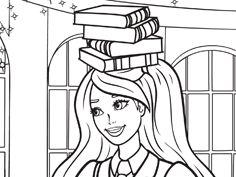 136 meilleures images du tableau coloriages apliques - Coloriage barbie apprentie princesse ...