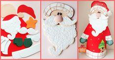 Aprenda agora mesmo com esse passo a passo a fazer um lindo e delicado papai Noel de balcão para enfeitar sua casa ou comércio nesse final de ano.
