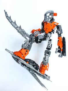 """""""Toa Speir, Warrior of the Skies"""" Great MOC"""