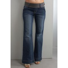 Maternal America Megan Blue Jeans. These are one of our best sellers! And are also very comfortable. $92.00