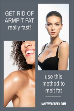 This post will be about how to lose armpit fat, the causes of its appearance and ways to banish it. Get a nice-looking arm! #armpitfat #weightlosstips Lose Weight In A Week, Want To Lose Weight, Lose Armpit Fat, How To Start Exercising, Lazy People, Lose Fat Fast, Fast Workouts, Loose Skin, Fat Burning Workout