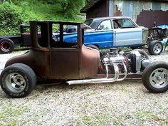 Ford : Model T na 1926/ 1927 Ford t-model coupe hotrod/ratrod - http://www.legendaryfind.com/carsforsale/ford-model-t-na-1926-1927-ford-t-model-coupe-hotrodratrod/