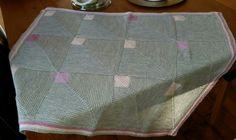 Baby deken gemaakt met Drop Baby Merino