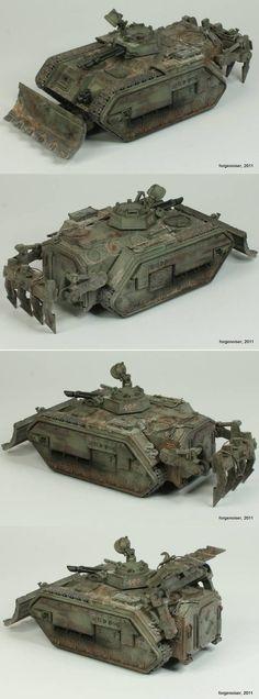 Chimera Combat Engineering Vehicles