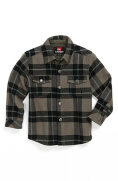 Quiksilver 'Simple Questions' Plaid Shirt (Baby Boys) available at #Nordstrom