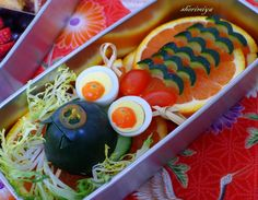 Happy Little Bento: Chinese New Year Dragon Bento 2
