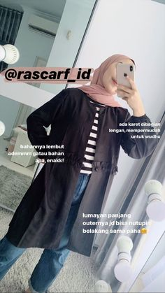 Casual Hijab Outfit, Ootd Hijab, Casual Outfits, My Outfit, Muslim Fashion, Hijab Fashion, Fashion Outfits, Fashion Styles, Womens Fashion