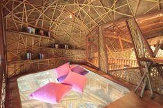Loft net bed