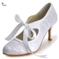 Chaussures de soirée Elegantpark blanches femme 67dOwjh2