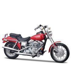 Miniatura Moto Harley-Davidson 1997 FXDL Dyna Low Rider Maisto 1:18 - Machine Cult | A loja das camisetas de carro e moto