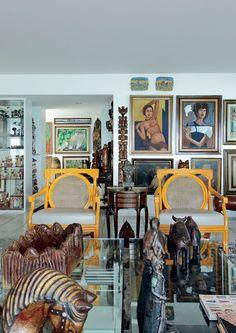 Mais de 600 obras de arte. E não é museu