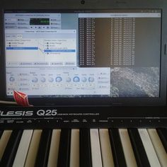 I got it to make noise. #linux #music by other.kevin