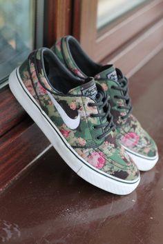 Nike Flower Sneakers